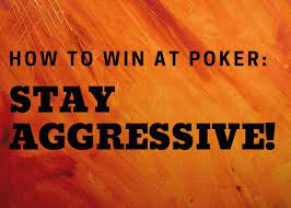 Aggression and Poker
